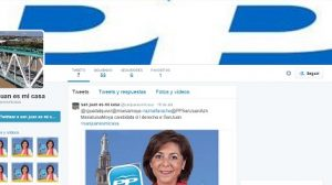 twitter falso