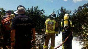 bomberos-emergencias-accidente-ultraligero-sevilla