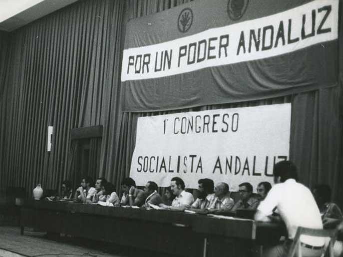 Primera sesión del I Congreso del PSA en la Universidad de Málaga