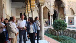 Antonio Muñoz en el Alcázar en el Día Mundial del Turismo/SA
