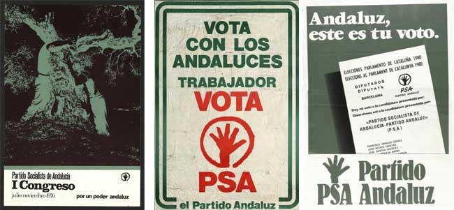 Cartelería histórica del PSA