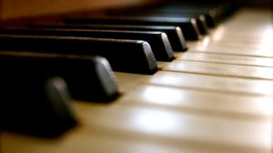 piano keys music