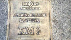 Este es el 'kilómetro cero' de Sevilla/ Adrián Yánez