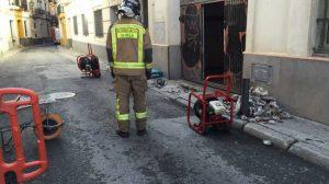 Foto Bomberos fuga gas