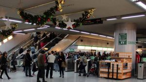 metro-en-navidad