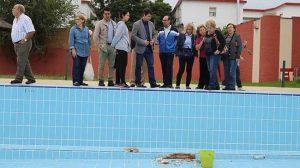 La piscina de Tiro de Línea en una imagen de archivo tras las denuncias de sus carencias / SA
