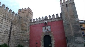 La Puerta del León del Alcázar de Sevilla / SA