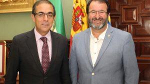 Alcalde Carmona y Rector Universidad de Sevilla-26.09.16