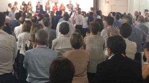 Imagen del Comité Federal del PSOE/ @gomezdcelis