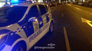 coche-policia-en-corte-trafico
