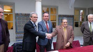 Firma del acuerdo de la Casa Fabiola como sede del museo de la colección Bellver /Archivo