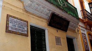 Una imagen de la casa de Acetres donde nació Luis Cernuda/ ISA