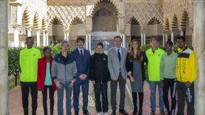 JJ UBEDA present Zurich Maraton Sevilla