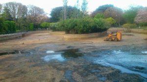 parque principes estanque