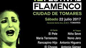 Cartel 42 Festival Flamenco de Tomares 2017