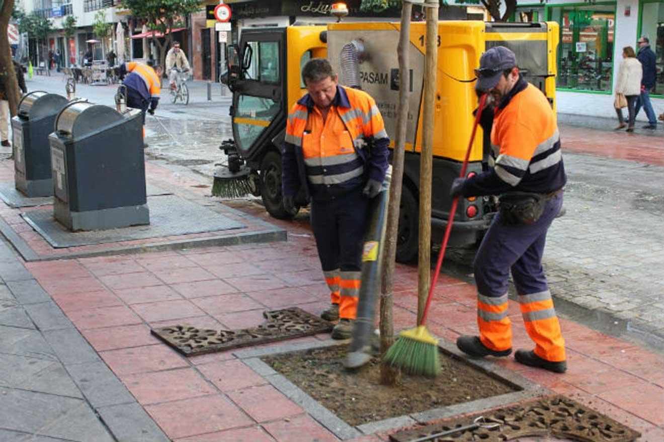 Trabajadores municipales/SA