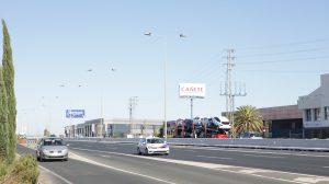 Autovía A-92 en Alcalá de Guadaíra
