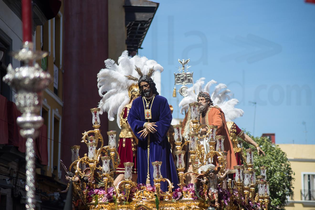 Jesús Cautivo en Avenida de la Constitución, Lunes Santo