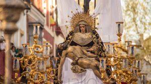 María y Jesús en el Baratillo
