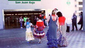 Usuarios de Metro en Feria /SA