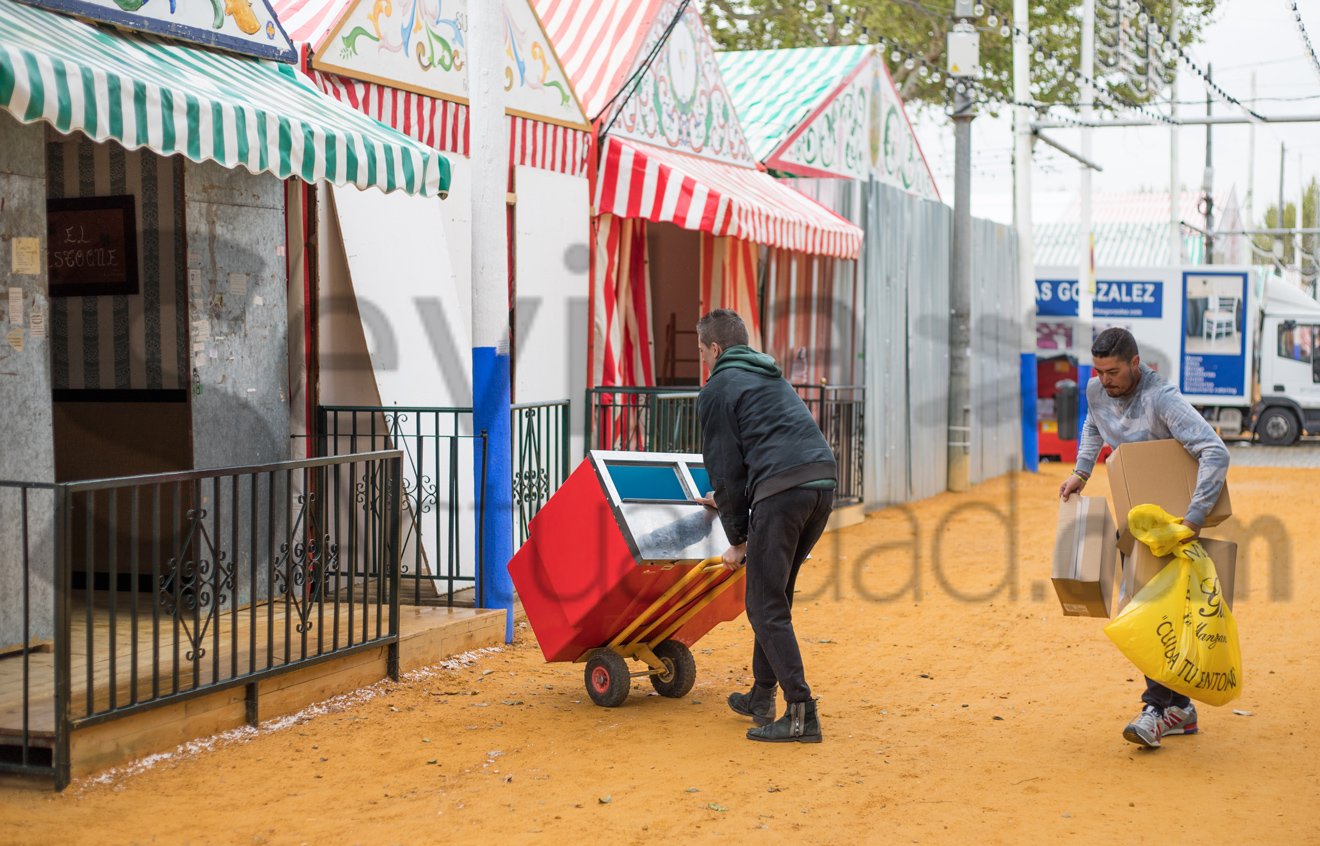 Montaje Feria Abril 2018