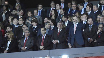 Castro en el palco /Sevilla FC