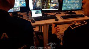 La Policía Local intercepta a un menor por mensajes amenazantes/ @EmergenciasSev