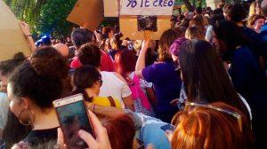 Concentración en Sevilla contra la sentencia de La Manada /María García Pérez