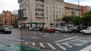 Anterior concentración de los taxistas /@elitetaxi