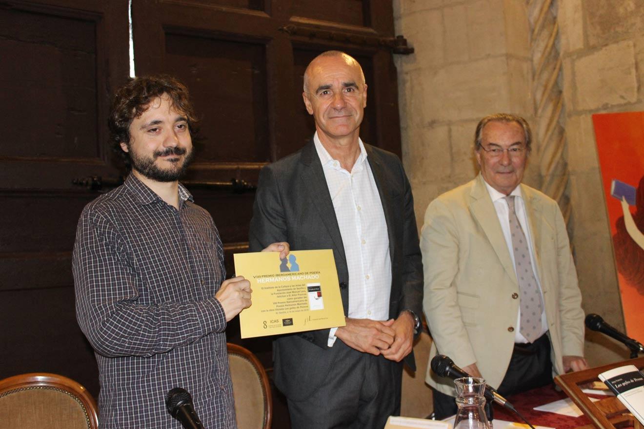 Entrega de premio Hermanos Machado /Ayto. Sevilla