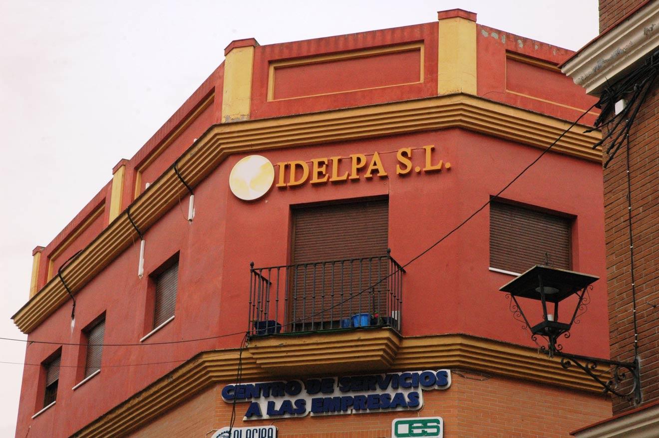 Antiguo edificio de Idelpa /Ayto. Los Palacios