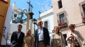 El barrio de Santa Cruz fue el elegido para presentar el nuevo plan de restauración de monumentos /Ayto. Sevilla