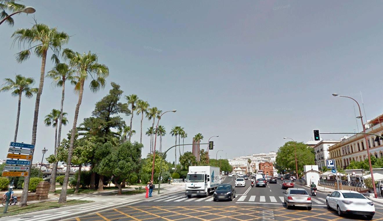 Tráfico en Sevilla /SA