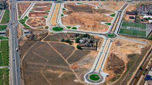 Vista aérea del sector Hacienda El Rosario /urbanismo.org