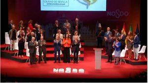 Acto de entrega de las medallas de la ciudad de Sevilla /SA