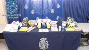 Productos falsificados para baño /Policía Nacional