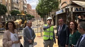 Comienzo de obras en El Cerezo /Ayto. de Sevilla