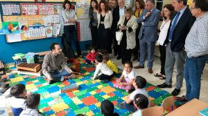 Visita al colegio 'San José Obrero'/Ayto. Sevilla