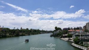 Río Guadalquivir /@EmergenciasSev