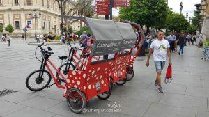Triciclos turísticos / Ayto. Sevilla