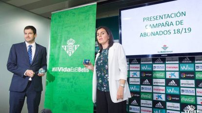 Presentación de la campaña de abonos /Real Betis