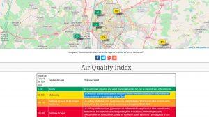 Web del Control del Aire /SA