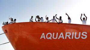 Buque 'Aquarius' / Susanne Friedel