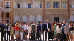 Encuentro en el Alcázar con el sector audiovisual sevillano y andaluz /Ayto. Sevilla