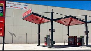 Gasolinera Petroprix en Parsi /SA