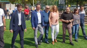 Inauguración del nuevo césped artificial del CD Los Mares /Ayto. Sevilla