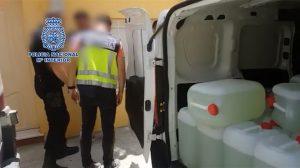 Operativo contra las narcolanchas /Policía Nacional