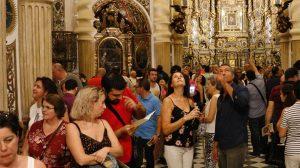 Público en San Luis de los Franceses en la Noche en Blanco de 2017 /SEM