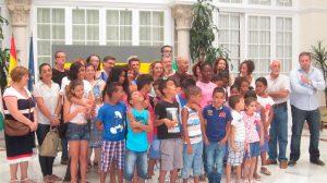 Menores acogidos en otras ediciones del programa Vacaciones en Paz / Archivo