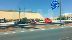 Accidente en la A-92 a la altura de Alcalá /SA